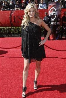 ESPN's Erin Andrews at the ESPY awards. (AP file photo)