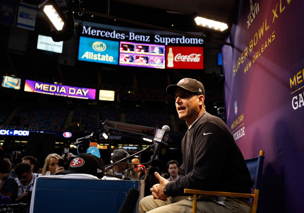 I'd take Jim Harbaugh over John Harbaugh six days of the week.